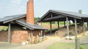 世界各地の窯が復元された野外博物館です。